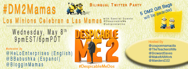 Despicable Me 2 Twitter Party #DM2Mamas