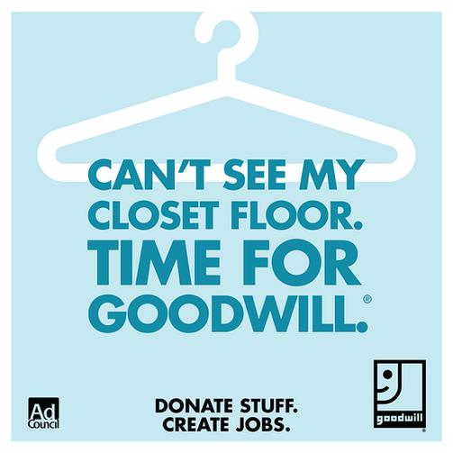 Spring Cleaning Tips with Goodwill