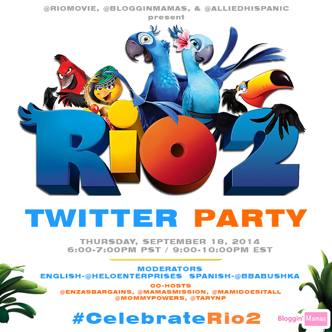 #CelebrateRio2 Twitter Party 9-18-14 at 9pm EST. RSVP: http://bit.ly/celebraterio2