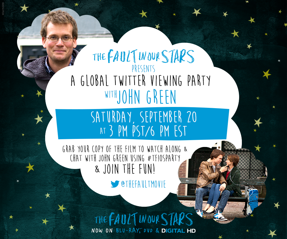 TFIOS WK5 Invite 03 1 Lets Party! Join the #TFIOSparty Twitter Party 9/20
