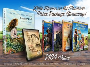 Enter the Little House on the Prairie Giveaway. Ends 4/24.