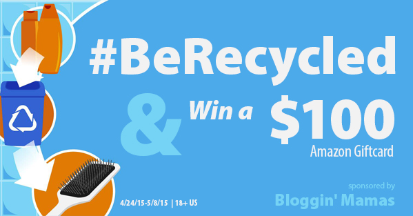 Enter the Recycle Me Giveaway. Ends 5/8