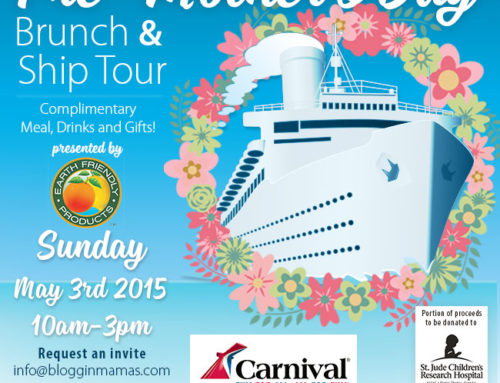 Pre-Mother's Day Brunch Aboard the Carnival Breeze 5-3-15