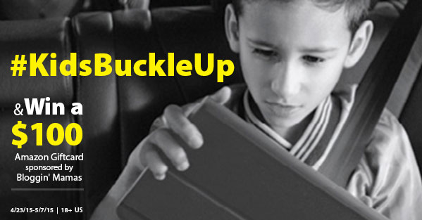 #KidsBuckleUp $100 Amazon Giftcard Giveaway. Ends 5/7