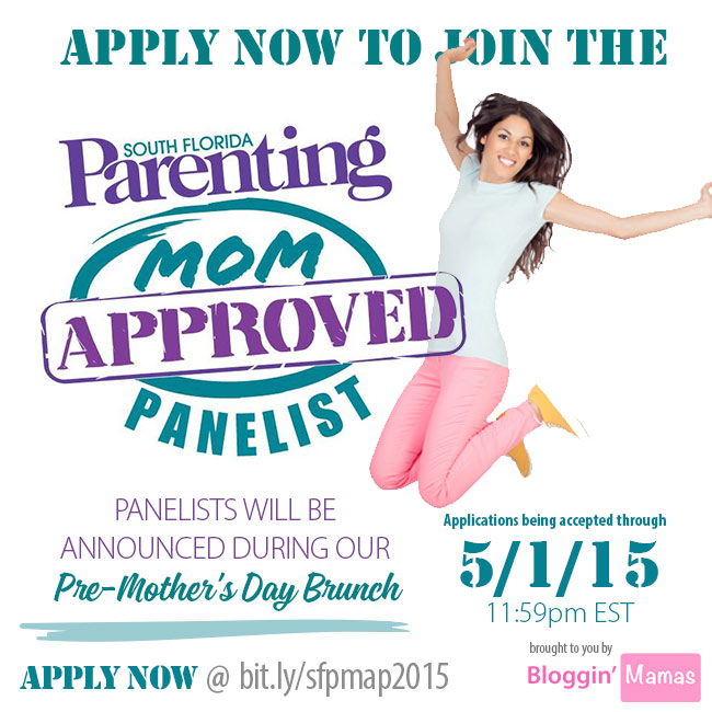 Apply to be a South Florida Parenting Mom Approved Panel