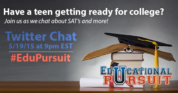 College Prep Chat 5-19-15 at 9p EST