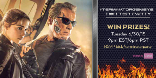 Terminator Genisys Twitter Party 6-30-15 at 9p EST bit.ly/terminatorparty