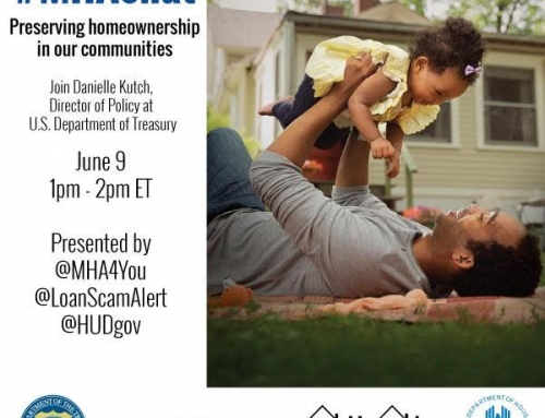 Making Homes Affordable Chat at 1p EST Today!