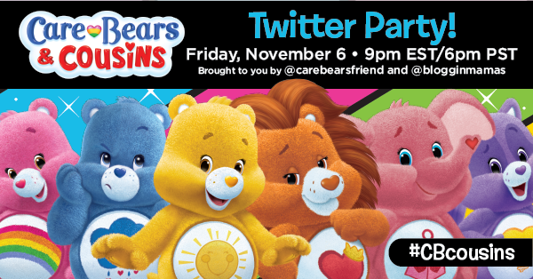 Care Bears & Cousins on etflix Twitter Party #CBCousins 11-6-15 at 9p EST #CBcousins