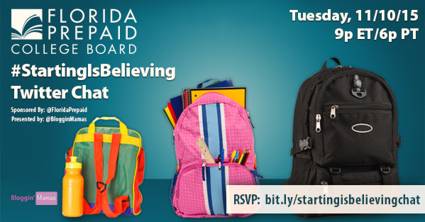 Starting Is Believing Twitter Chat with Florida Prepaid. 11-10-15 at 9p EST. bit.ly/startingisbelievingchat