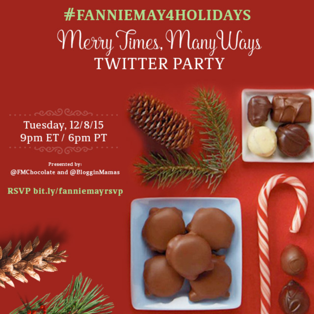 FannieMay4Holidays Twitter Party BlogginMamas Instagram Share Image Fannie May Twitter Party