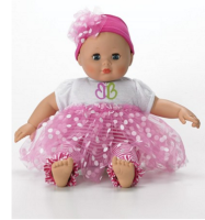 "ToyMamas Twitter Party Prize from Madame Alexander- Little Sister - Babblebaby™ 14"" Baby Doll $44.95 bit.ly/toymamasrsvp"
