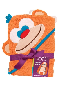 SOZO Monkey Hooded Towel- House Monkey Giveaway Prize