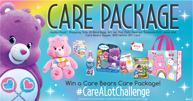 Care Bears Care Prize Package Join the Care Bears as we celebrate the #CareALotChallenge in honor of Share Your Care Day at the Care A Lot Challenge Twitter Party on 9/8 at 9pm EST! Thank you for joining me and Bloggin' Mamas for the #CareALotChallenge Twitter Party earlier this month. Have you joined the Care A Lot Challenge yet?