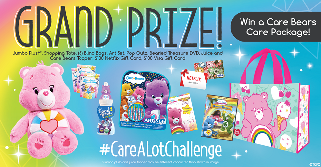 Care-a-Lot Challenge Twitter Party Grand Prize
