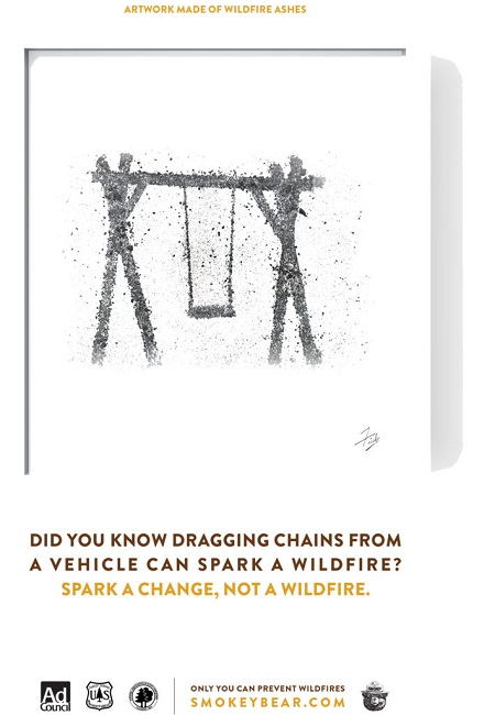 Avoid wildfires with Smokey The Bear