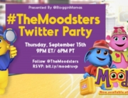 The Moodsters Twitter Party 9-15-16 at 9p ET RSVP: bit.ly/moodrsvp