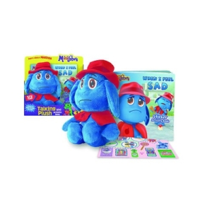 The Moodsters Plush and Activity Book Set