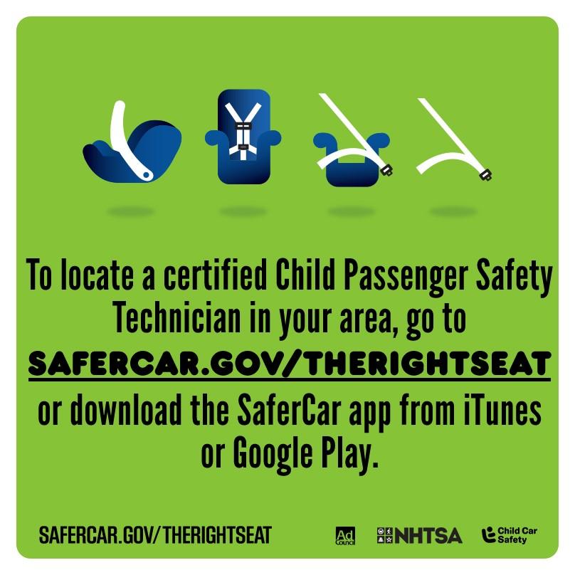 Child Passenger Safety Week Info