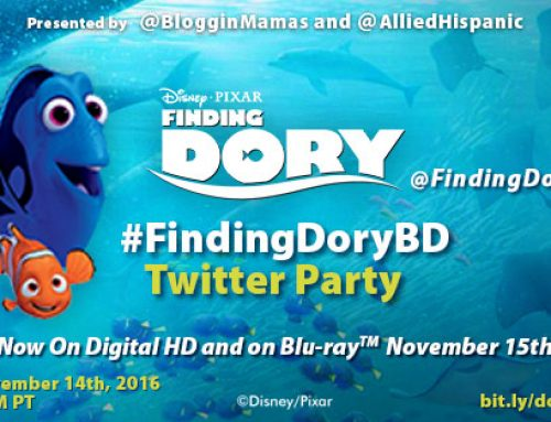 Finding Dory DVD & Blu-ray Twitter Party