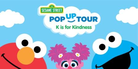 Sesame Street K is for Kindness Pop Up Tour- Pembroke Lakes Mall