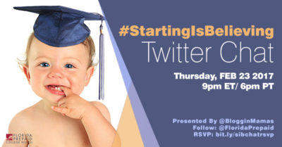 Starting is Believing Twitter Chat 2-23-17 at 9p ET bit.ly/sibchatrsvp