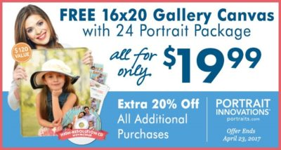 Portrait Innovations Spring Special