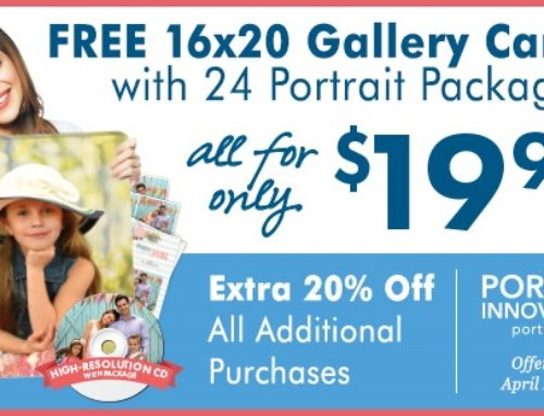 Spring Offer from Portrait Innovations