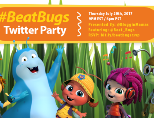 Beat Bugs Twitter Party 7-20-17 at 9p ET