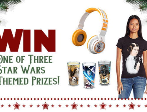 Giveaway- Star Wars Return of the Gift Guide- End 12-31-17