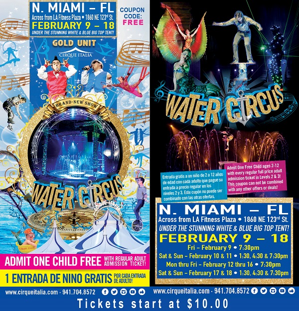 Cirque Italia North Miami