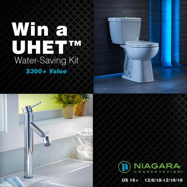 Nigara UHET Water-Saving Kit with Phantom Toilet Ends 12-19-18