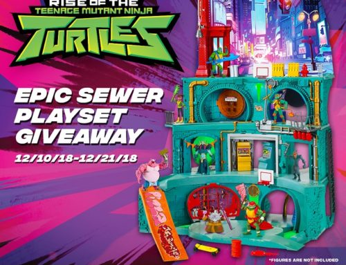 Rise of the TMNT Epic Sewer Lair Giveaway Ends 12-21-18