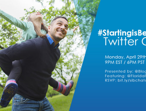 #StartingIsBelieving Twitter Chat 4-29-19 at 9p ET