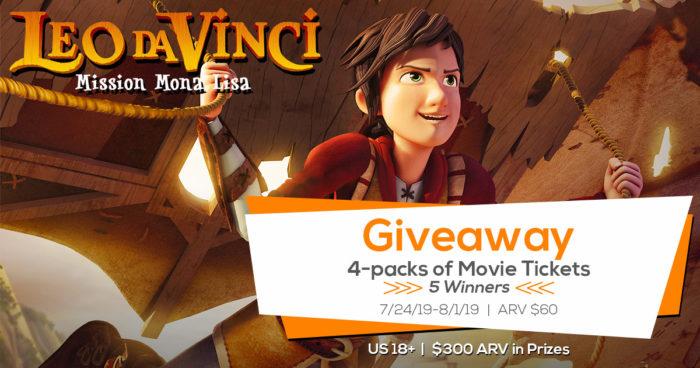 Leo DaVinci Giveaway BlogginMamas Twitter Image 700x368 - Leo Da Vinci: Mission Mona Lisa Giveaway