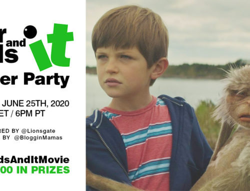 #FourKidsAndItMovie Twitter Party 6-25-20 at 9p ET
