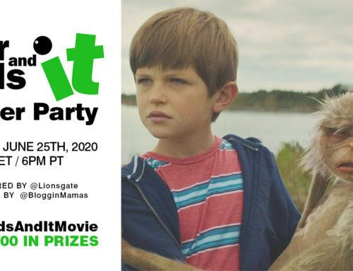 #FourKidsAndItMovie Twitter Party 6-25-20 at 9p ET
