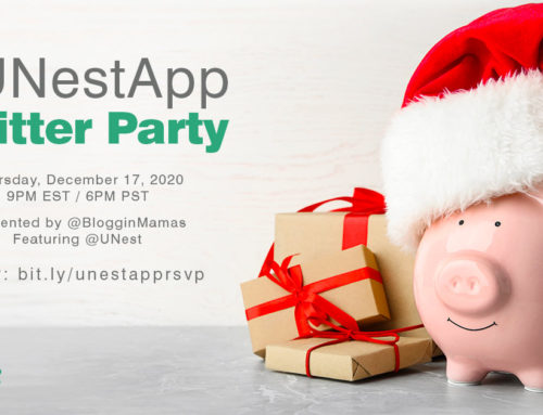 #UNestApp Twitter Party 12-17-20 at 9p ET